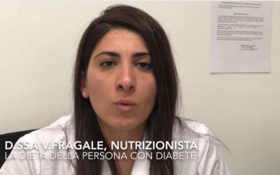 La dieta della persona con diabete